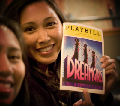 Dreamgirls playbill