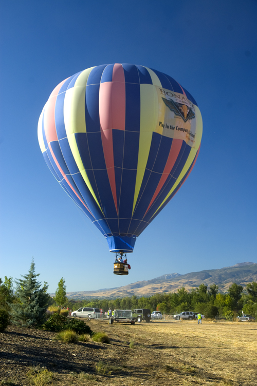 Reno balloon race balloon
