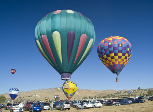 ballrope The Great Reno Balloon Race