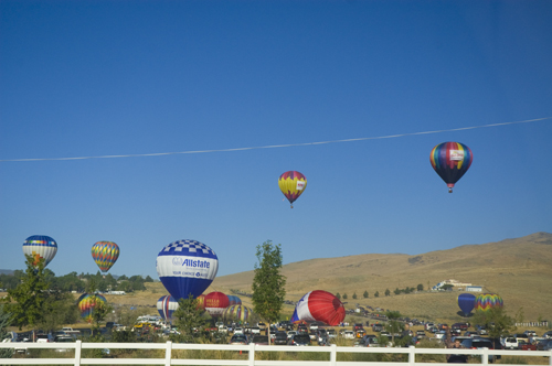 ballupdown The Great Reno Balloon Race