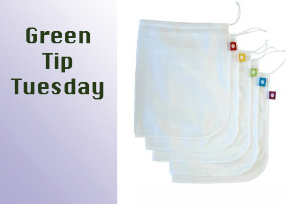 gttuesprodbag Green Tip Tuesday   Reusable Produce Bags