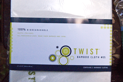twistbambclt Green Tip Tuesday   Cleaning with a Twist