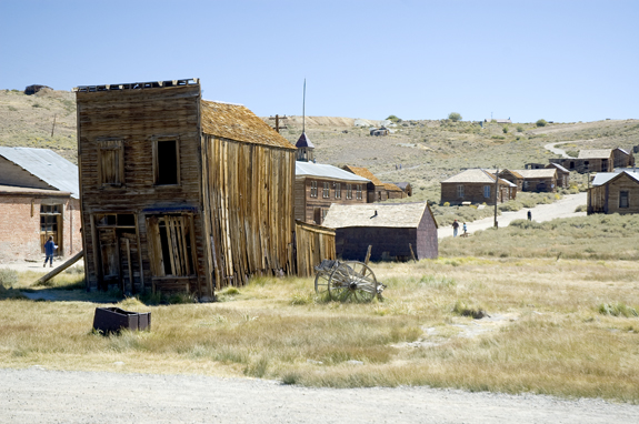 Old Western Ghost Town...