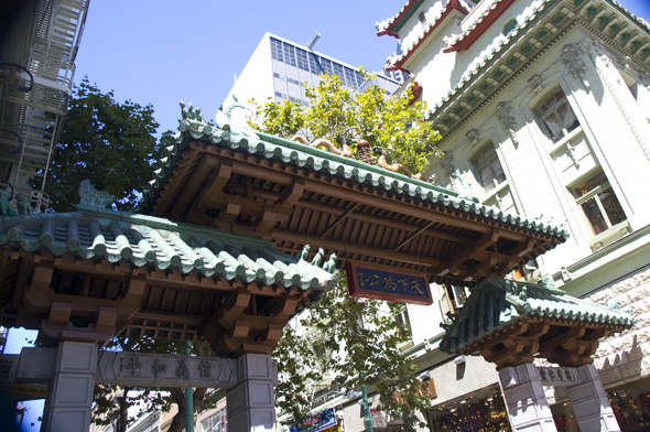 Entrance to Chinatown San Francisco