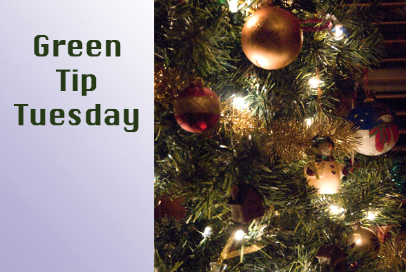 gtornament Green Tip Tuesday   Holiday Decorating