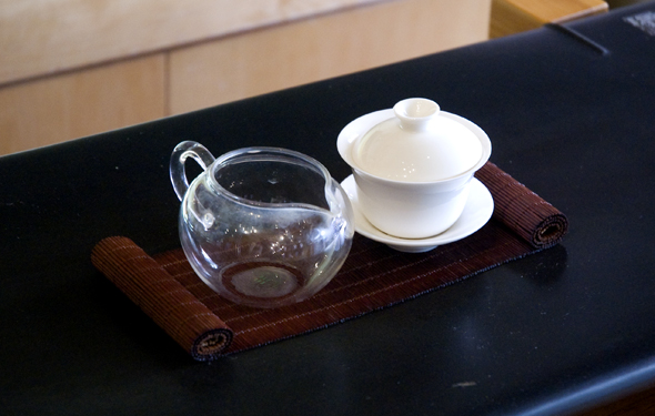 Tea serving basic pieces