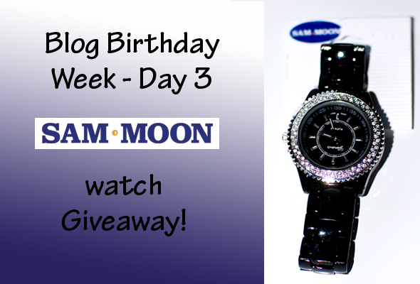 bbwd3 Blog Birthday Week Day 3 – Sam Moon Watch