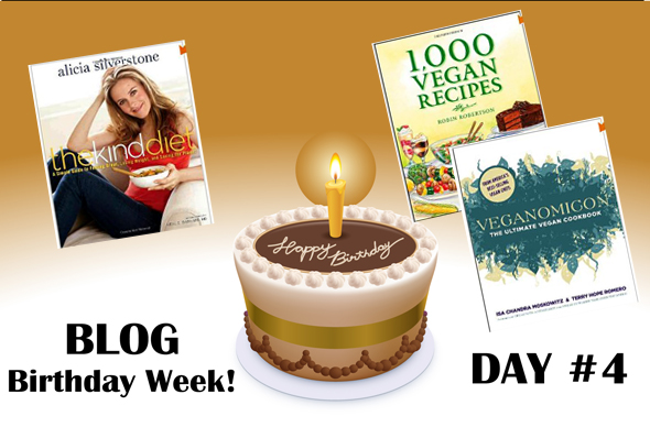 blogbirthdaycay4 Blog Birthday Week Day #4 – Cookbooks