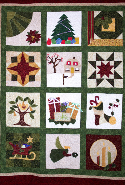 chquiltfull1 The Christmas Quilt