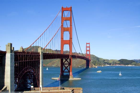 Golden Gate Bridge Winter in SF