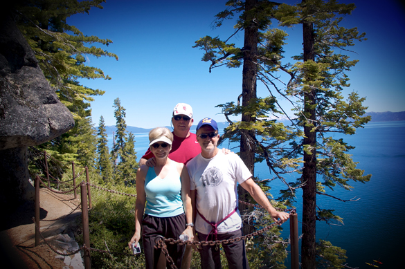 TD1 5 Tahoe   Rubicon Trail to Emerald Bay Hike