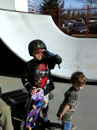 skaters Wordless Wednesday   Photos from my Phone
