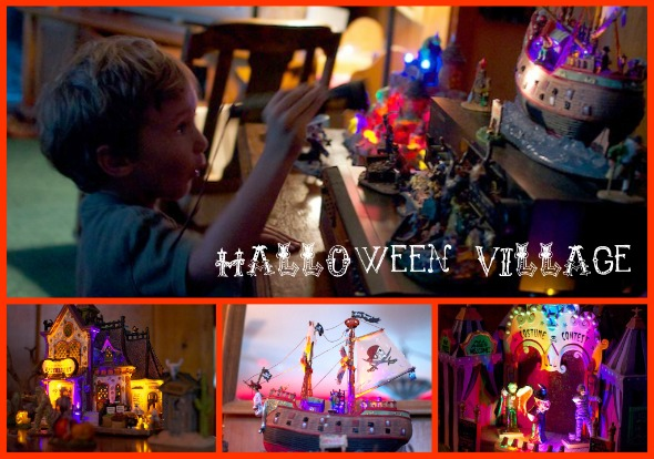 hallvillage1 Wordless Wednesday   Halloween Village