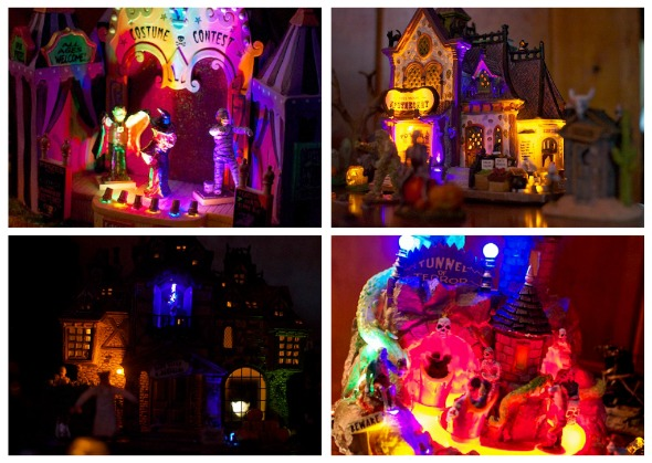 hallvillage2 Wordless Wednesday   Halloween Village