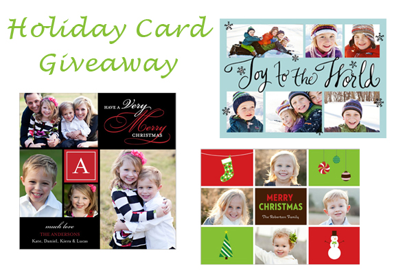 holidaycard1 Shutterfly Holiday Card Giveaway
