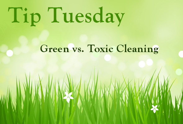 TipTuesmaingvt Tip Tuesday   Green vs Toxic Cleaning