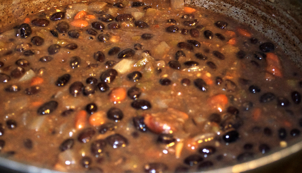 bbean2 Meatless Monday   Black Bean Soup a la Libby