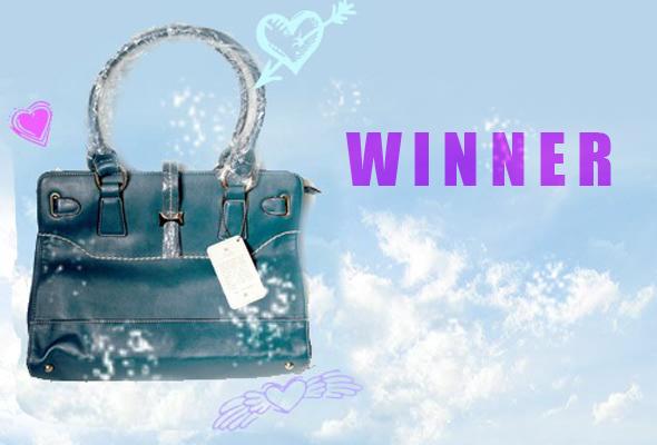 vdaywinner Valentines Handbag Winner