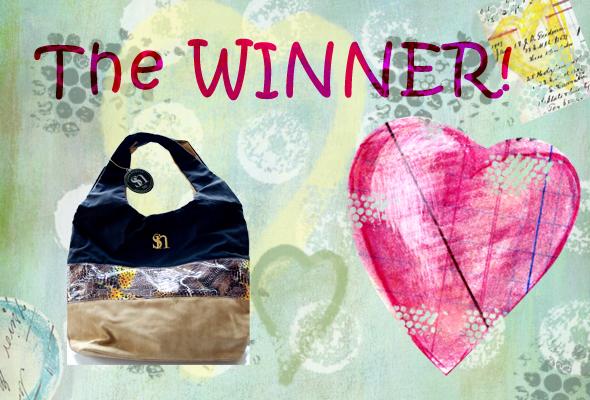 winnercollage Vegan Handbag WINNER!