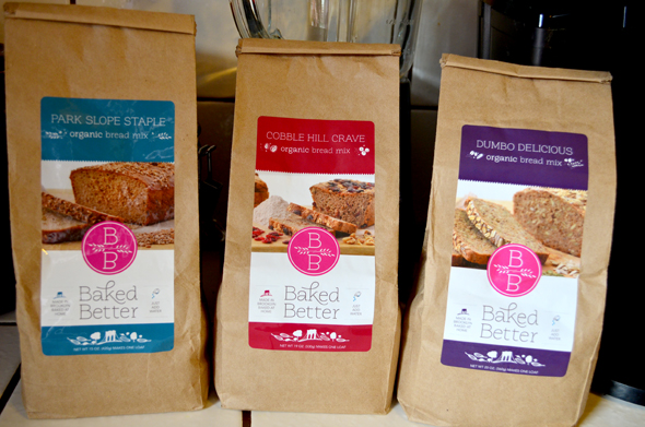 Baked Better bread mixes