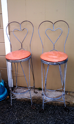 old chair Garden Chair Re do