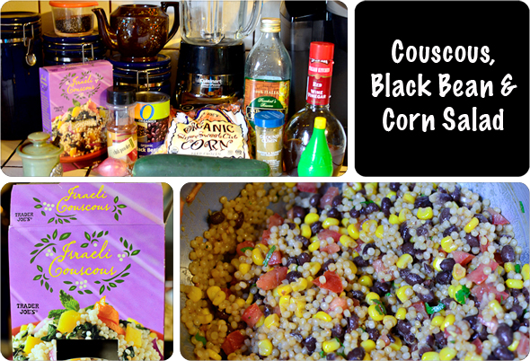 couscousmain1 Couscous, Black Bean & Corn Salad