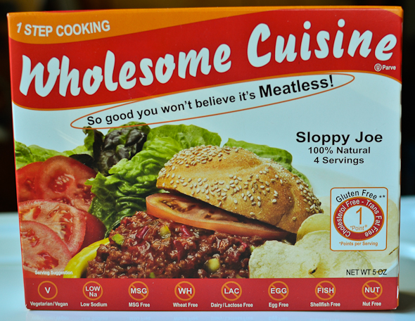 Wholesome Cuisine - Sloppy Joe