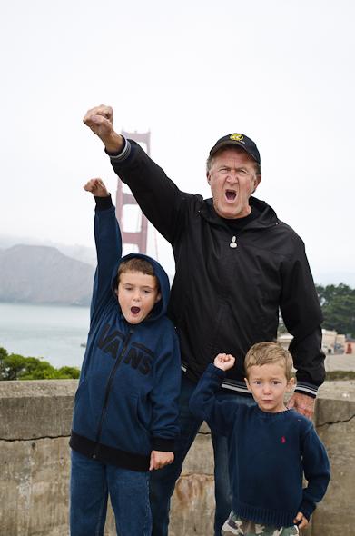 boyssfaug12 1 of 13 Wordless Wednesday   San Francisco Fun