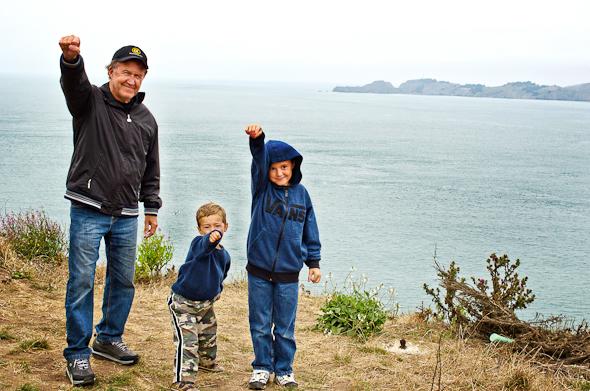 boyssfaug12 2 of 13 Wordless Wednesday   San Francisco Fun
