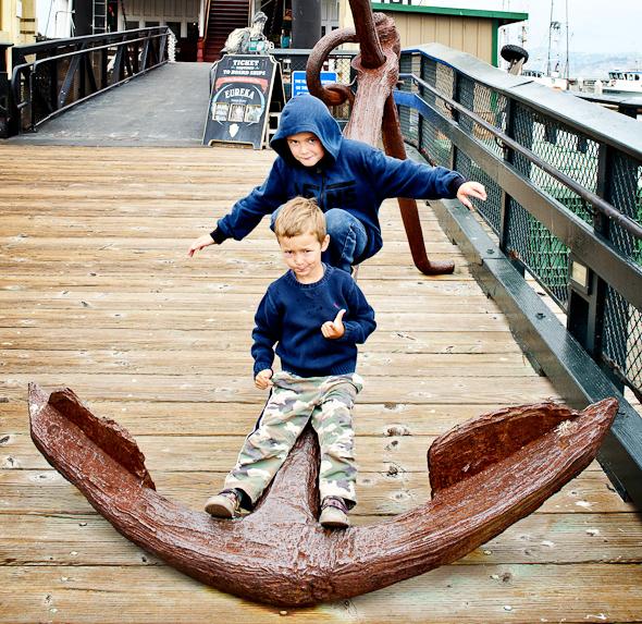 boyssfaug12 3 of 13 Wordless Wednesday   San Francisco Fun