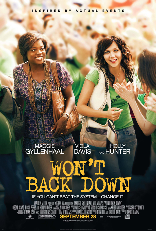 Won't Back Down poster