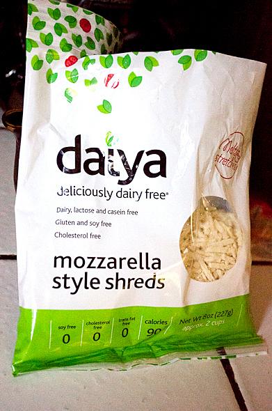 Daiya vegan shreds