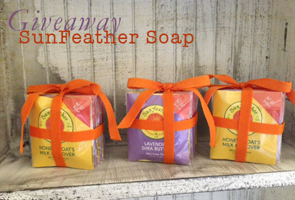 sfsoapmain Giveaway   SunFeather Soaps