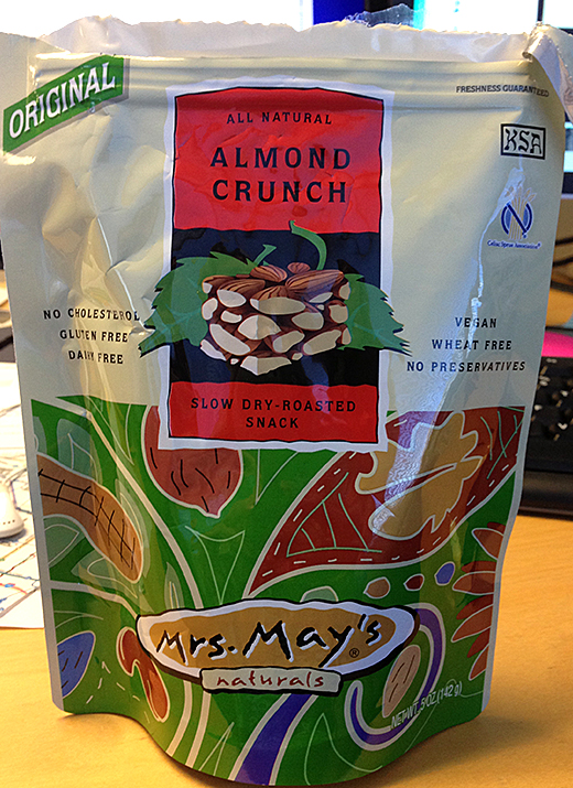 almondcruch Vegan Snack ATTACK